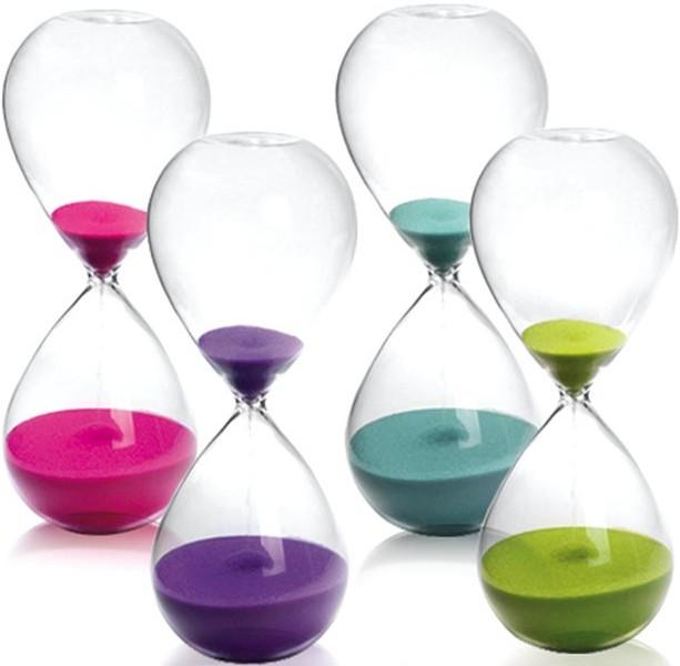 Clessidre colorate pretty presents oggettistica fior for Costo di finestre a clessidra