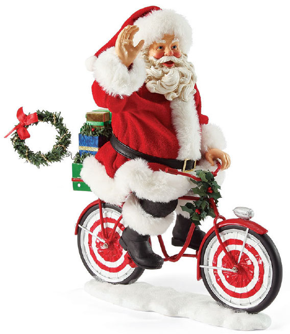 Babbo Natale In Bicicletta.Babbo Natale Ciclista Fior Di Loto Riccione