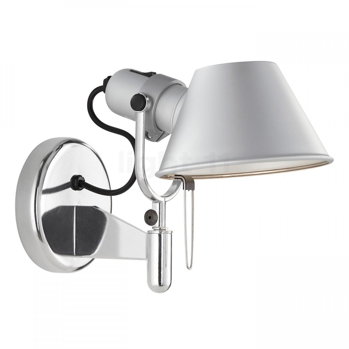 tolomeo faretto con interruttore on off artemide pianeta luce. Black Bedroom Furniture Sets. Home Design Ideas