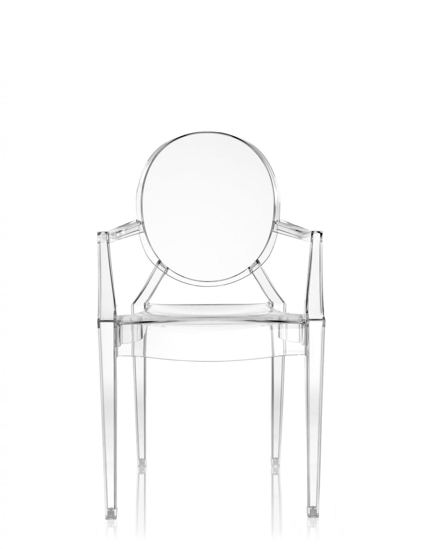 Louis Ghost sedia Kartell cristallo 4853/B4 minimo 4 pezzi   Sedie ...