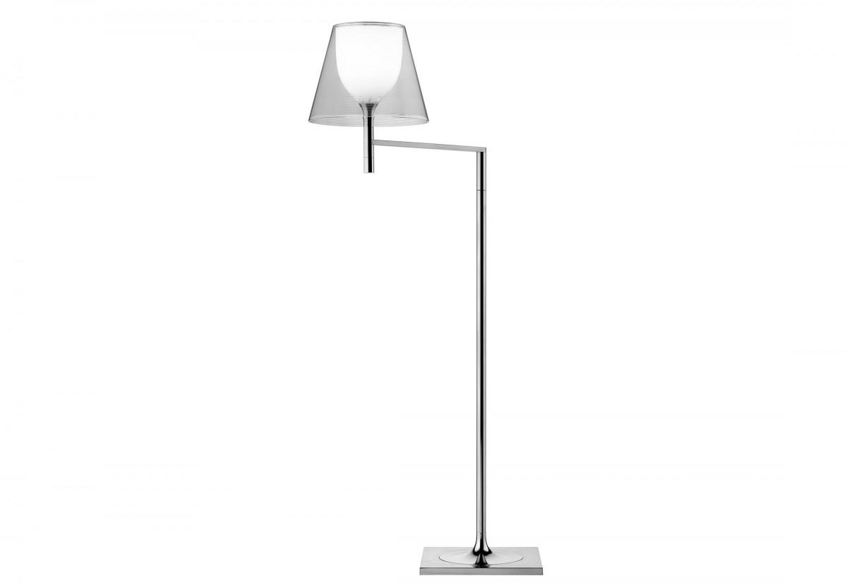 Ktribe F1 lampada da terra di Flos trasparente | Lampade da terra ...