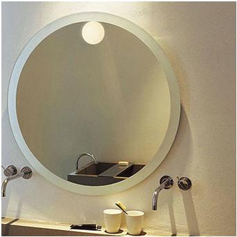 Mini Glo Ball C W Lampada Montaggio A Specchio Di Flos