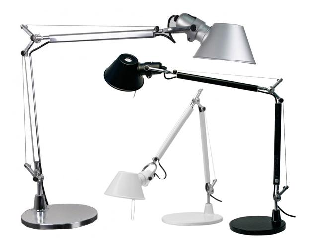 Tolomeo mini led lampada da tavolo di artemide pianeta - Lampada da tavolo tolomeo ...