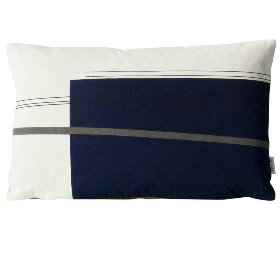 Cuscini Ferm Living.Colour Block Cushion Small 2 Cuscino Ferm Living Pianeta Luce