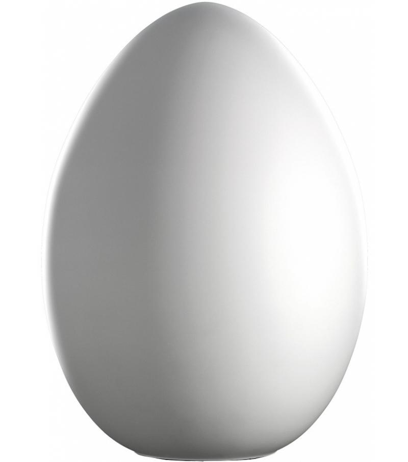 Uovo lampada da tavolo fontana arte grande vetro di for Lampada da tavolo grande