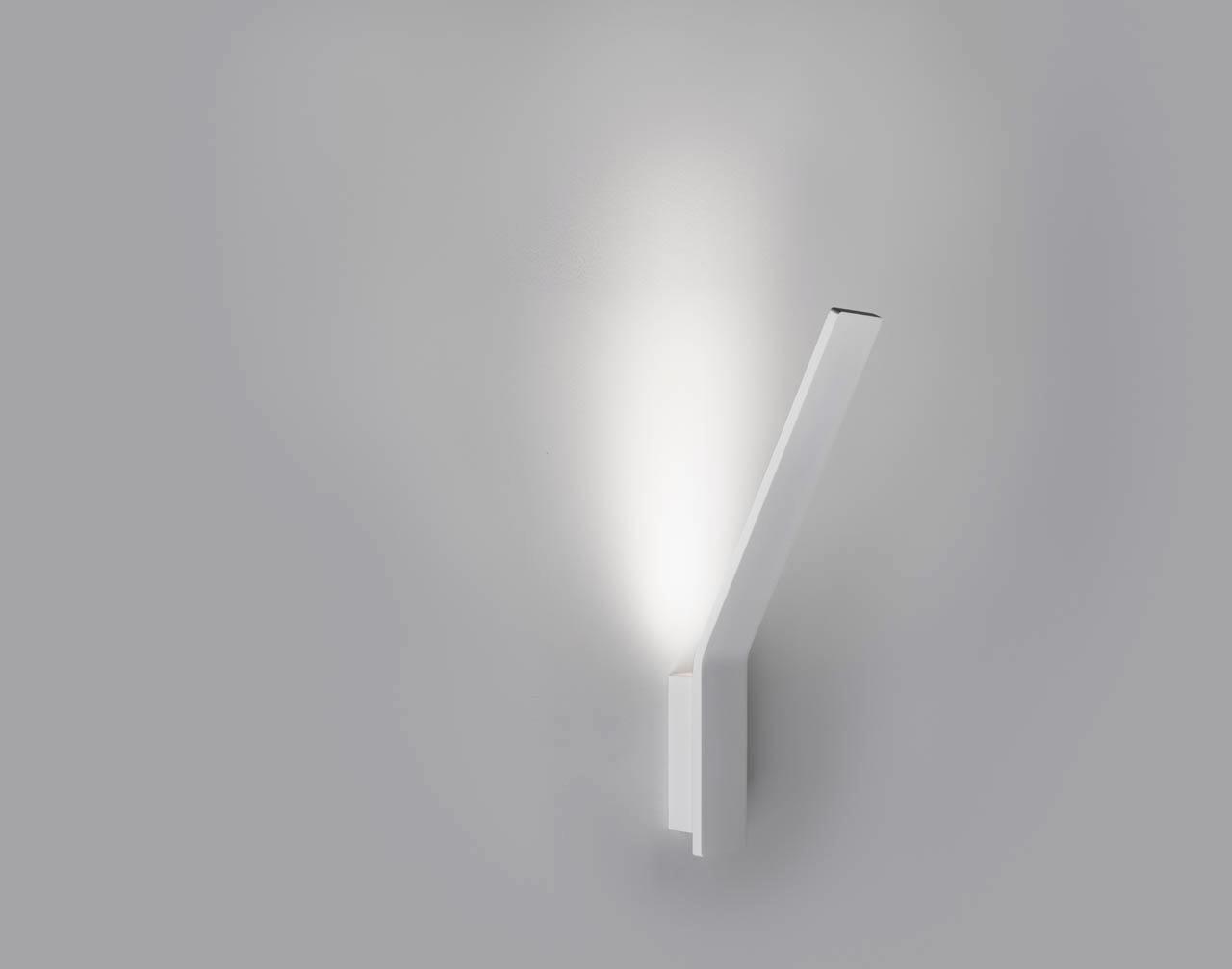 Lama lampada da parete a led di linea light pianeta luce