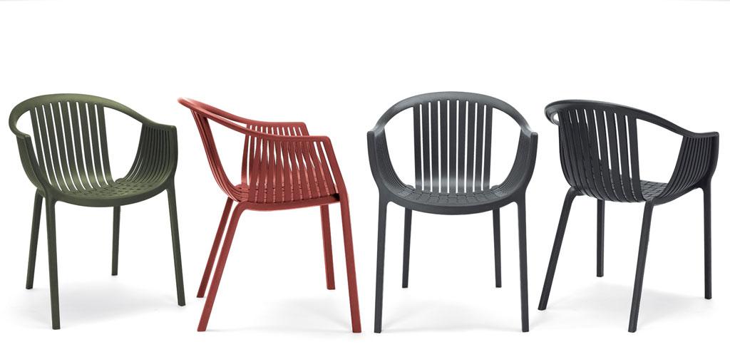 Tatami 306 sedia impilabile in polipropilene di Pedrali | | Pianeta Luce