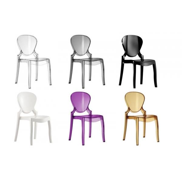 Queen 650 sedia in policarbonato di Pedrali | | Pianeta Luce