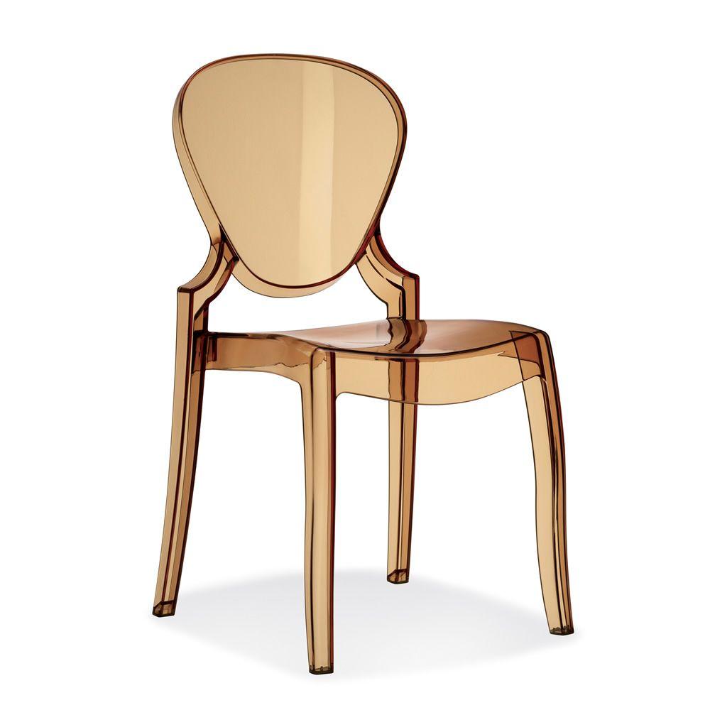 Queen 650 sedia in policarbonato di Pedrali | Sedie | Mobili e ...