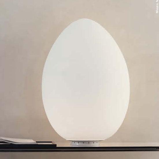 Uovo Lampada Da Tavolo Fontana Arte Grande 2646 Pianeta Luce