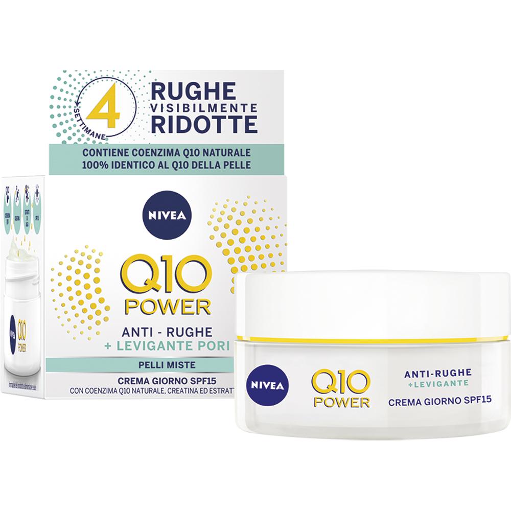 Nivea - Q10 Power Crema giorno anti-rughe + levigante pori..