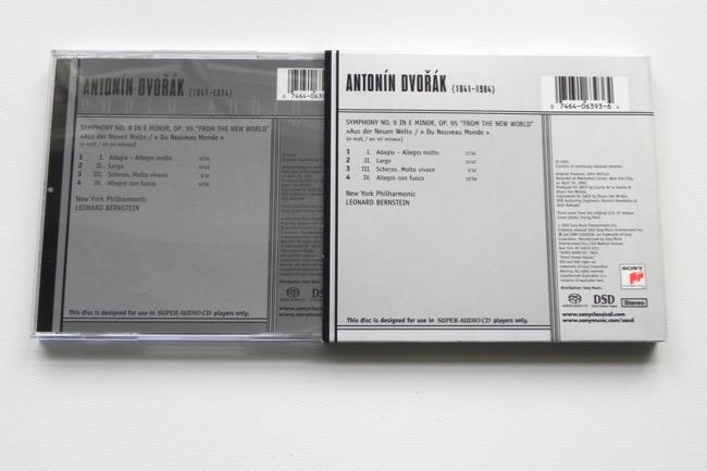 Antonin Dvorak - Symphony No  9 From the New World / New York Philharmonic  - L  Bernstein -- Hybrid SACD Made in USA
