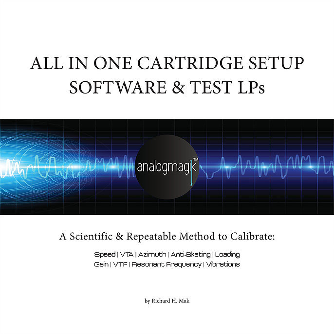 All In One Cartridge Setup Software & Test LPs A Scientific & Repeatable  Method To Calibrate: Speed, Wow & Flutter, Azimuth, VTA, VTF,