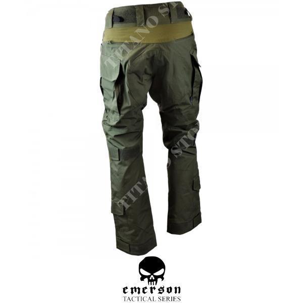Pantalones Tacticos Con Etiqueta Azul G3 Ranger Green Emerson Emb9319rg Titano Store
