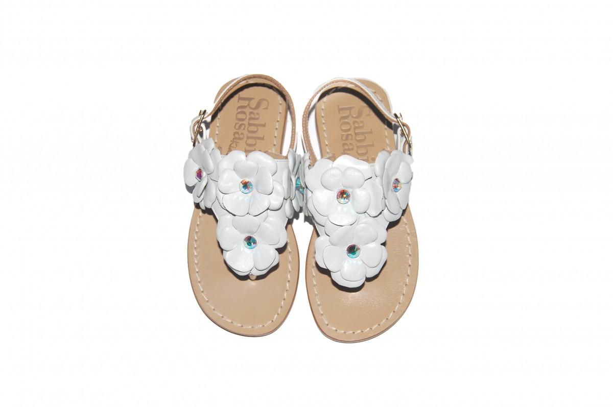 Sandali da bambina con applicazioni di strass Venta Mayor Proveedor Sa9uxeHC