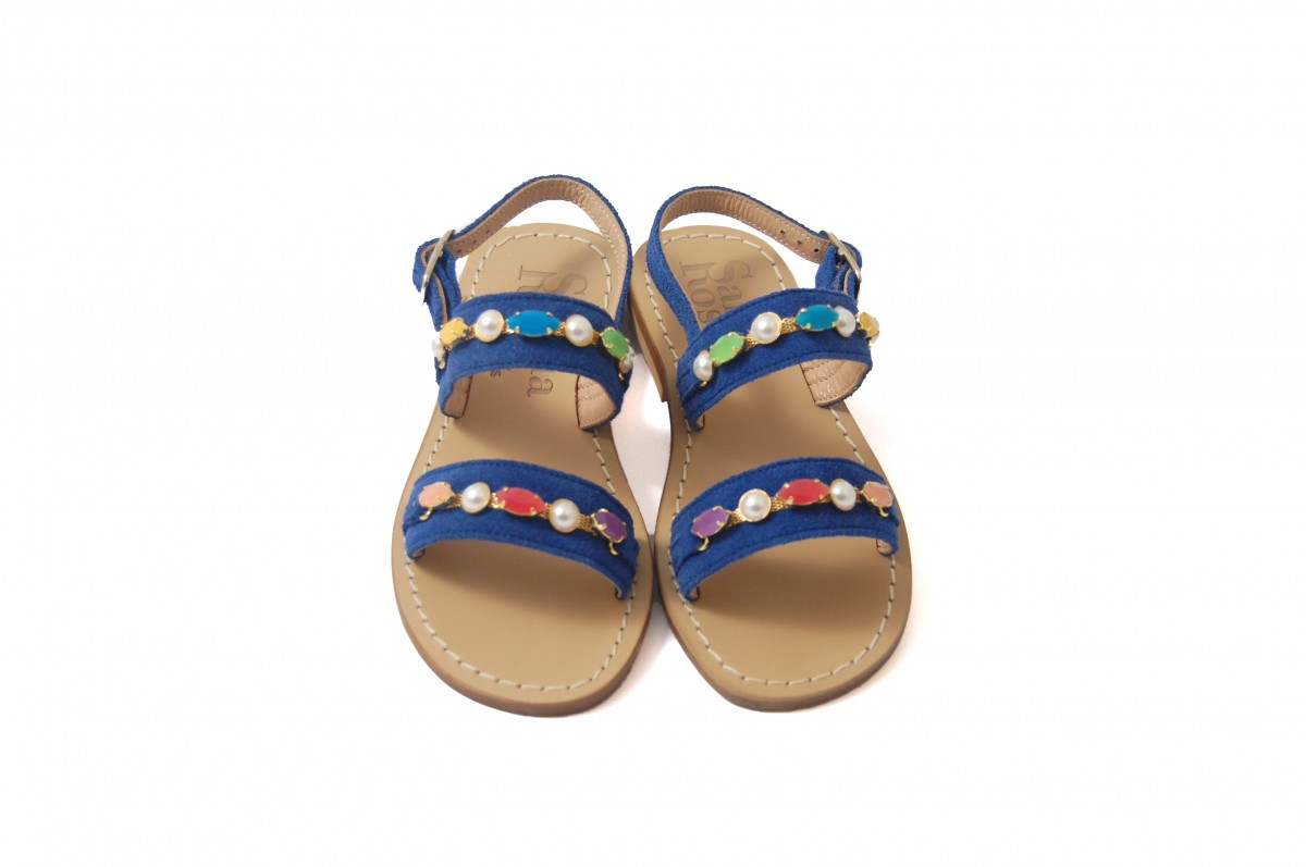Sandali blu da bambina r2Dwht