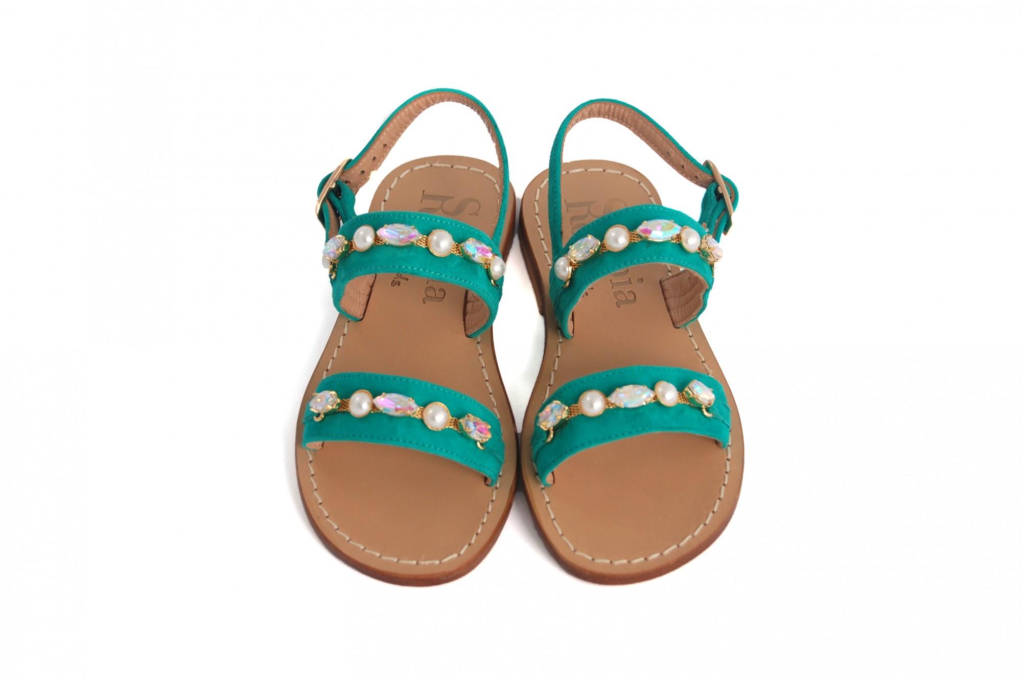 Sandali verdi per bambina zur5QM