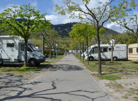 OUR CAMPINGPITCHES IN SPRING!