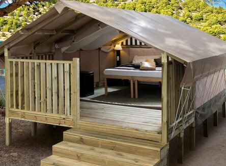 TENDA MINI LODGE ESSENTIAL CHIC DA 25€ A NOTTE