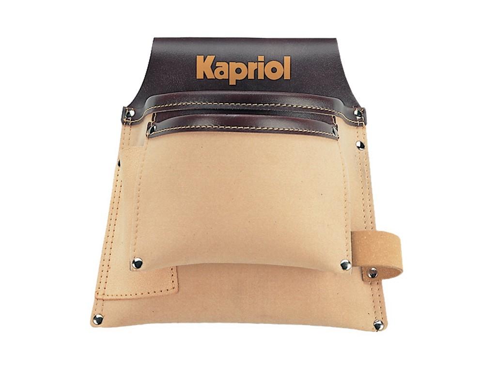 Borsa carpentiere kapriol in cuoio art 25004 vendita for Metro laser bricoman