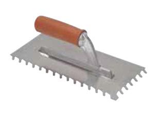 Cazzuola americana cm con denti inclinati mm raimondi art
