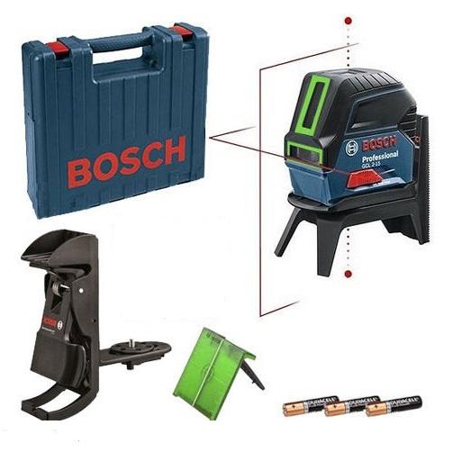 Livella laser verde a 2 assi gcl 2 15 g bosch professional 0601066j00 bt3 rm1 vendita online - Laser per piastrellisti ...