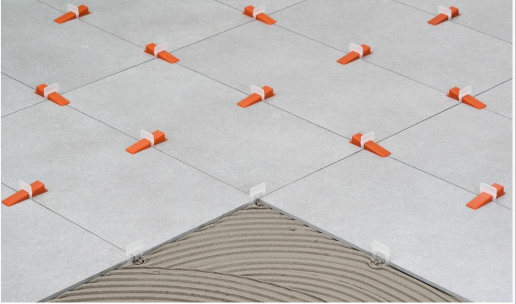 Basi livellanti r l s raimondi per piastrelle con spessore da 3 a 12 mm fuga mm 1 5 conf 250 - Distanziatori livellanti per piastrelle ...