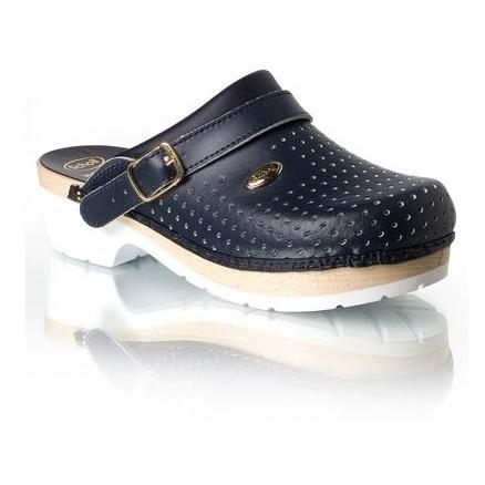 più recente 1f173 e5063 Dr. Scholl Supercomfort zoccoli in legno blu