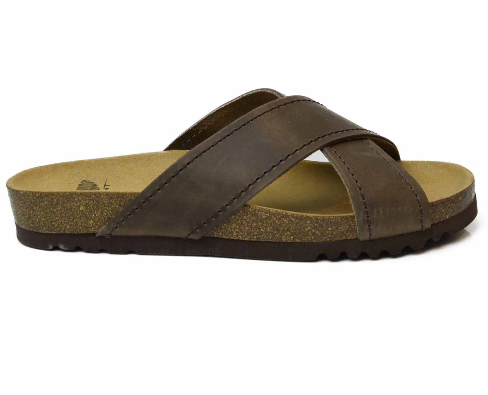 Soft Leather Flip Flops