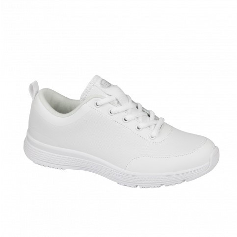 4cc202a65efc DR. SCHOLL MEN S PROFESSIONAL FOOTWEAR ENERGY PLUS WITH LACES LEATHER WHITE