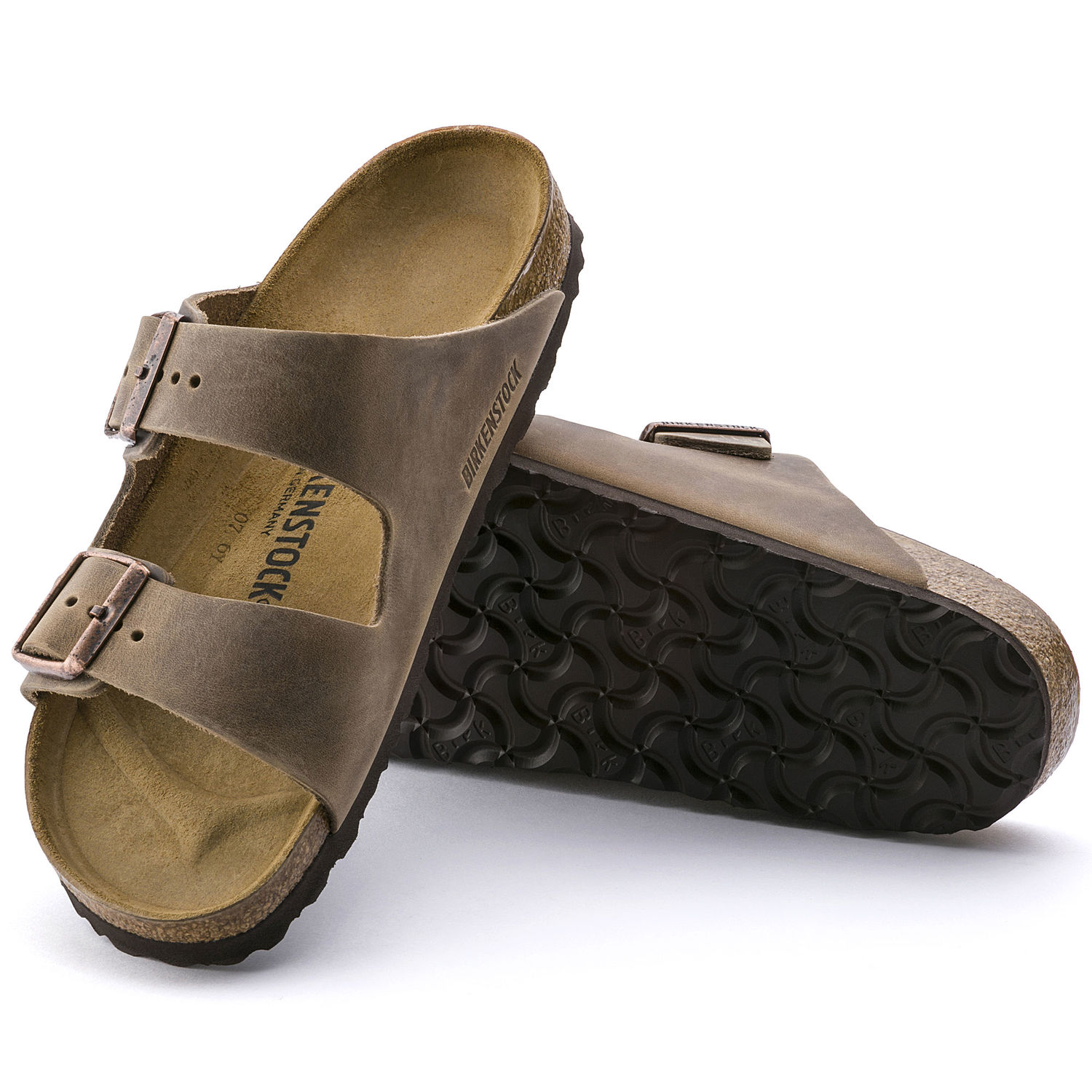 Flip Flops Brown Leather