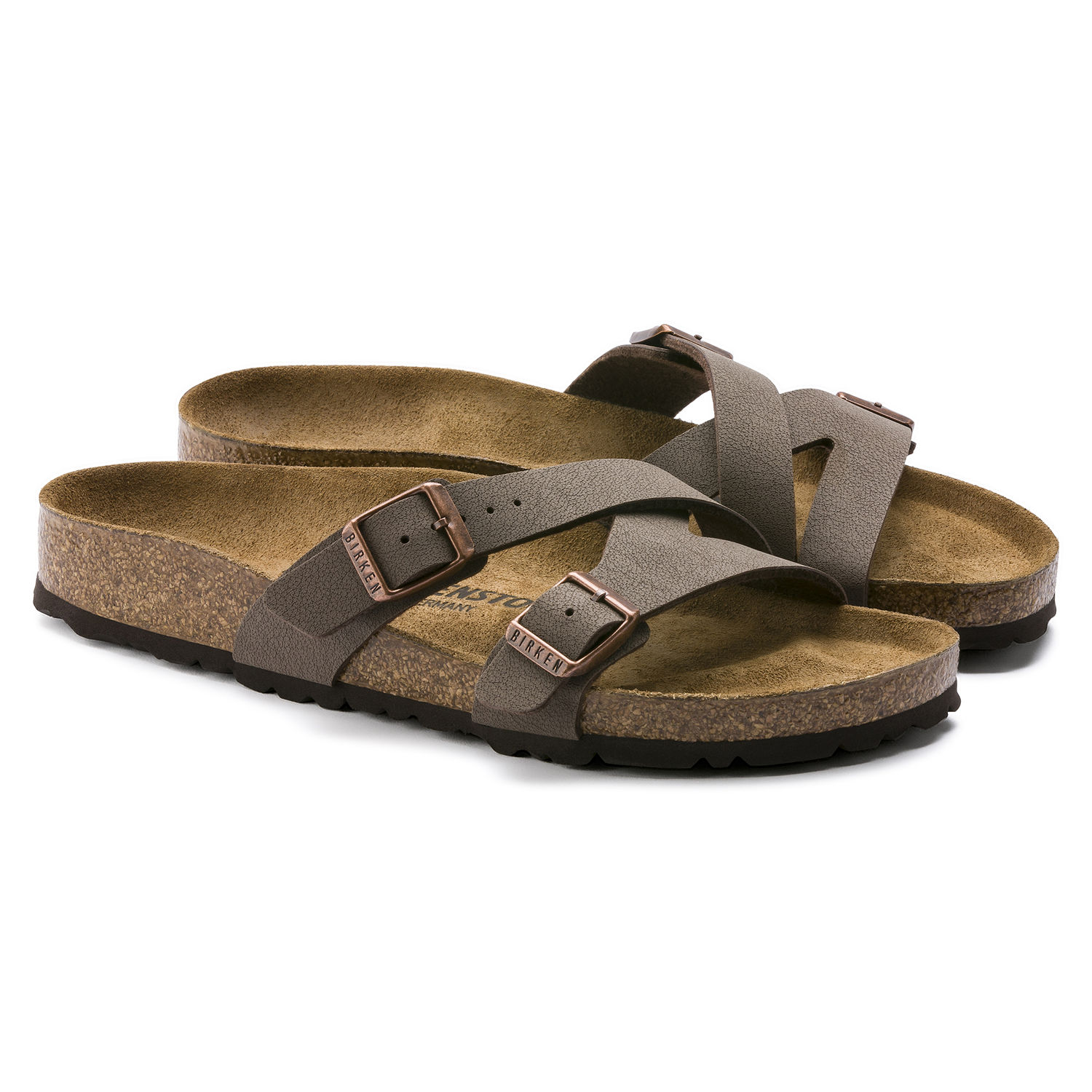 huge discount 3e039 820c7 BIRKENSTOCK YAO BALANCE CIABATTE DONNA MOCCA