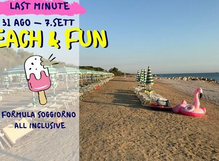 LAST MINUTE BEACH & FUN