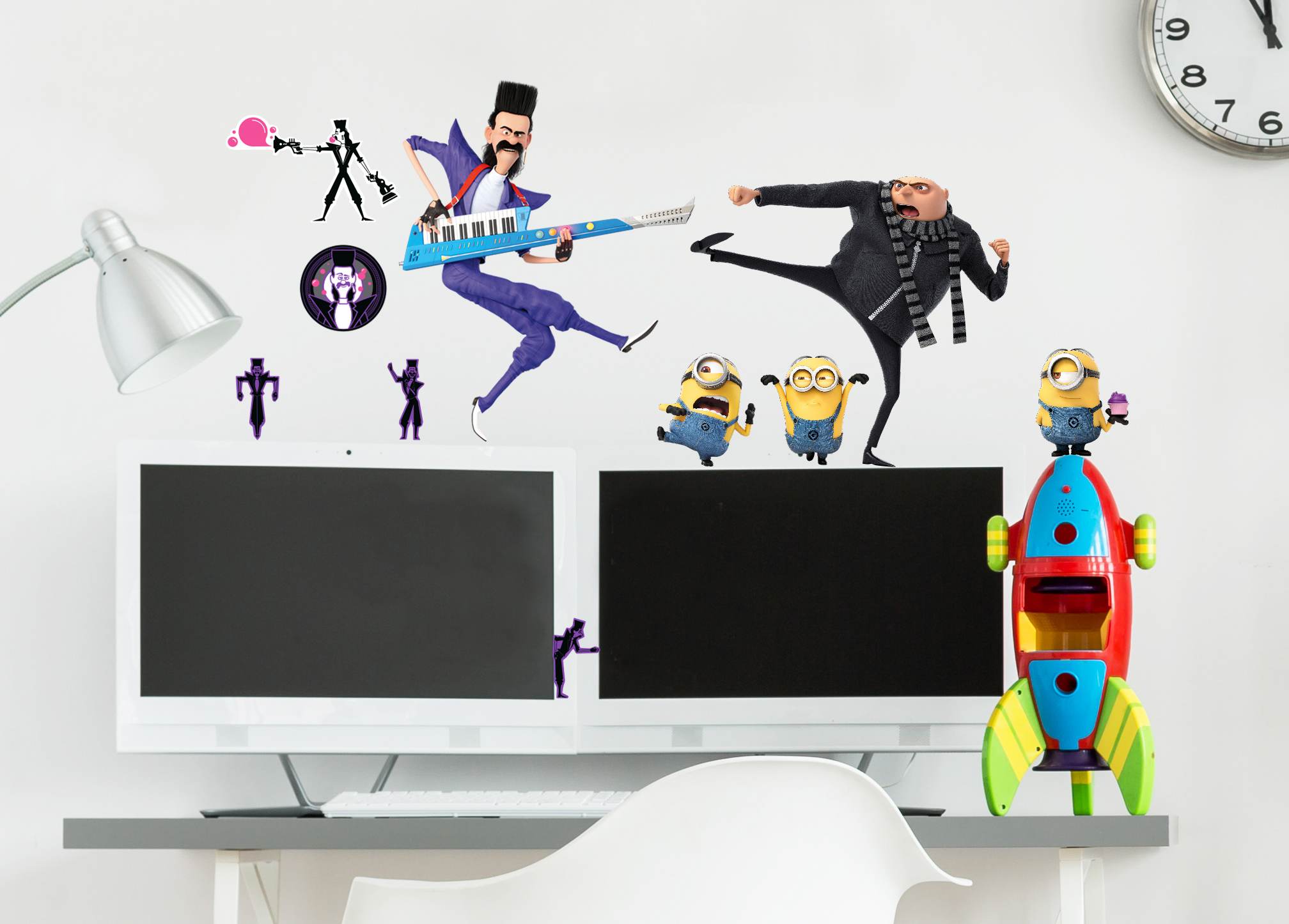 Despicable Me 3 Bratt Wall Stickers And Decorations By Imagicom  # Muebles Novella