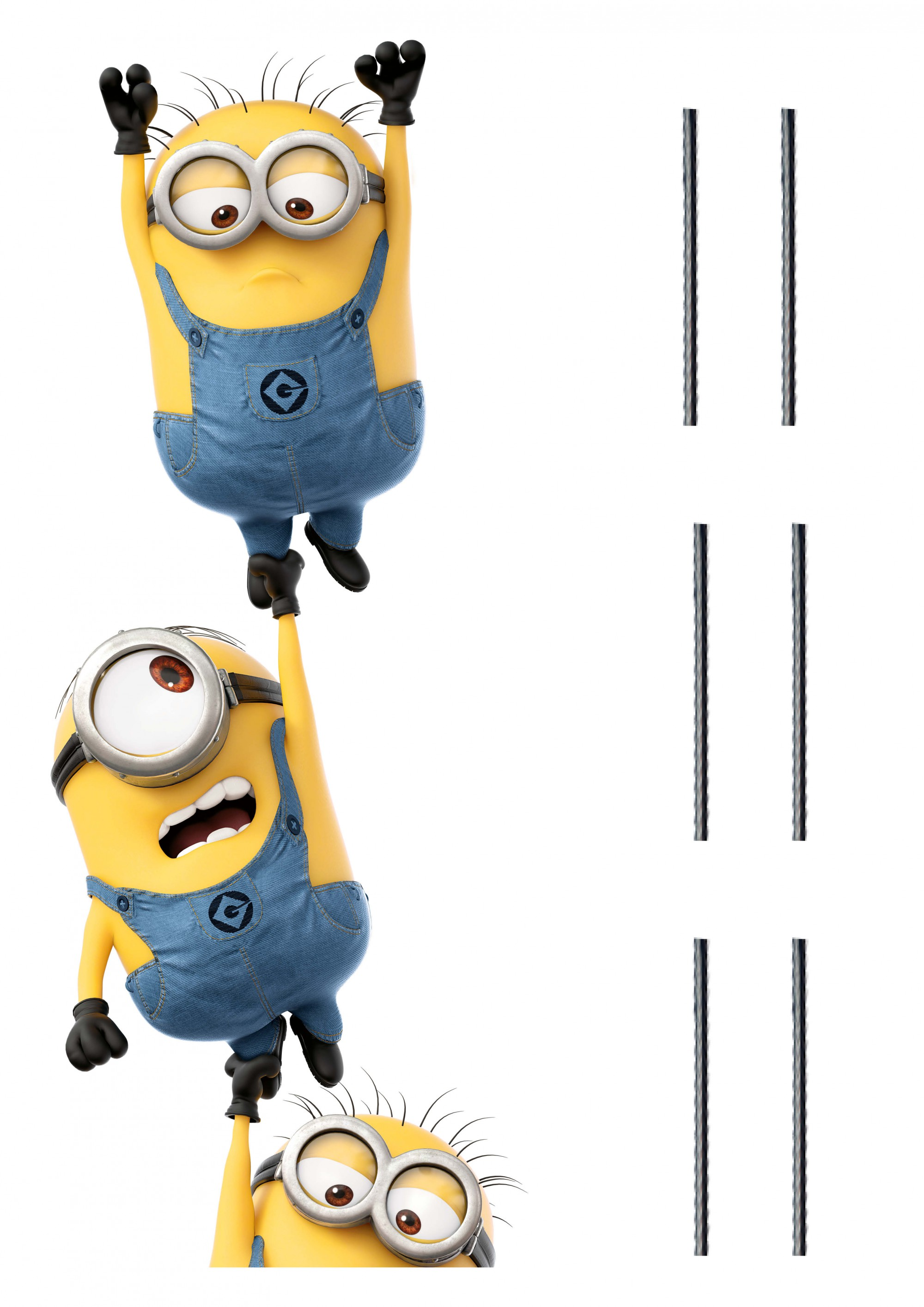Minions Chain Wall Stickers And Decorations By Imagicom