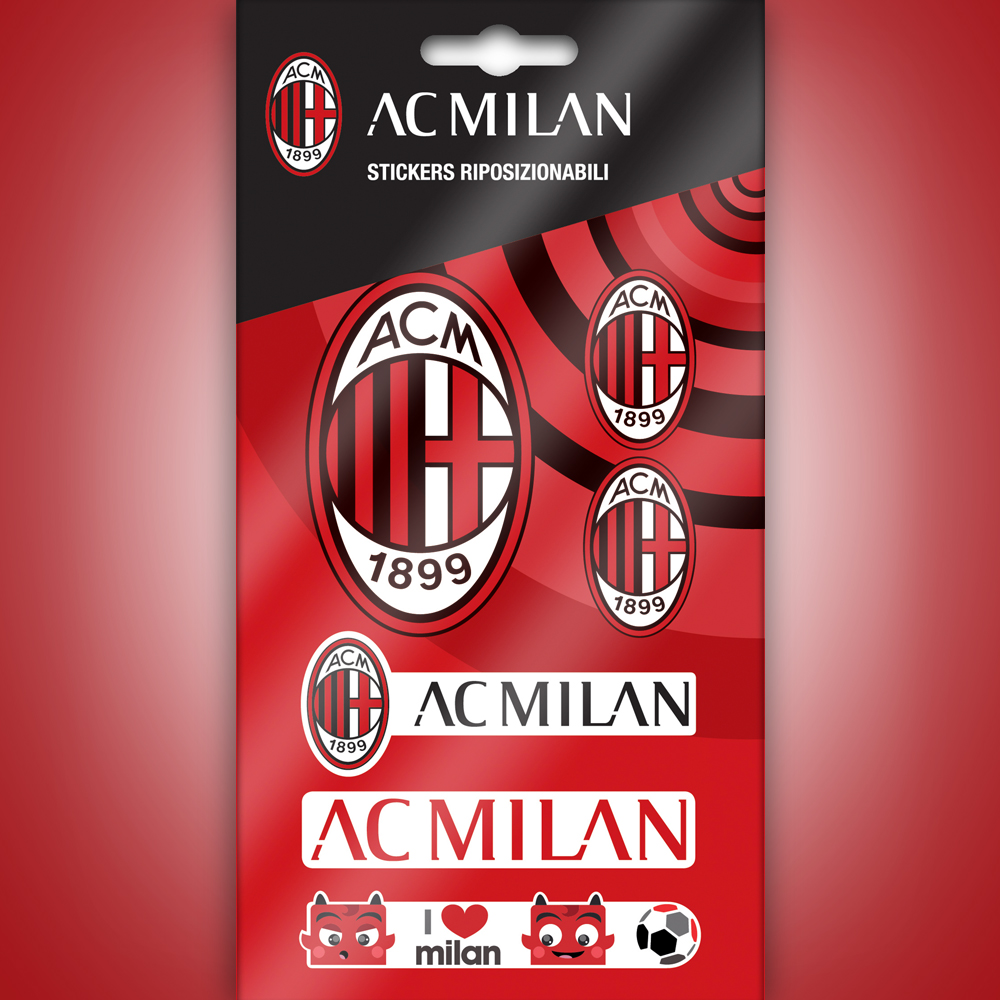 Milan Mini Stickers Graphics Logo Wall Stickers And Decorations By
