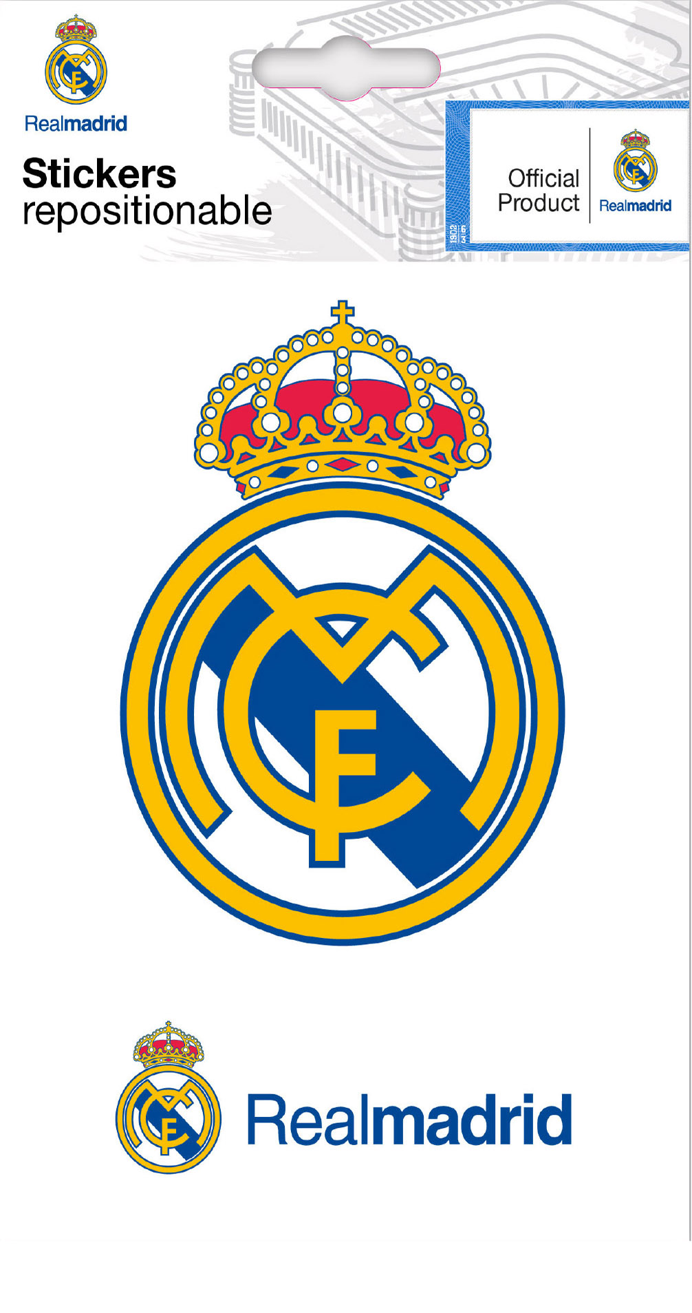 Real Madrid Three Mini Stickers Wall Stickers And Decorations By