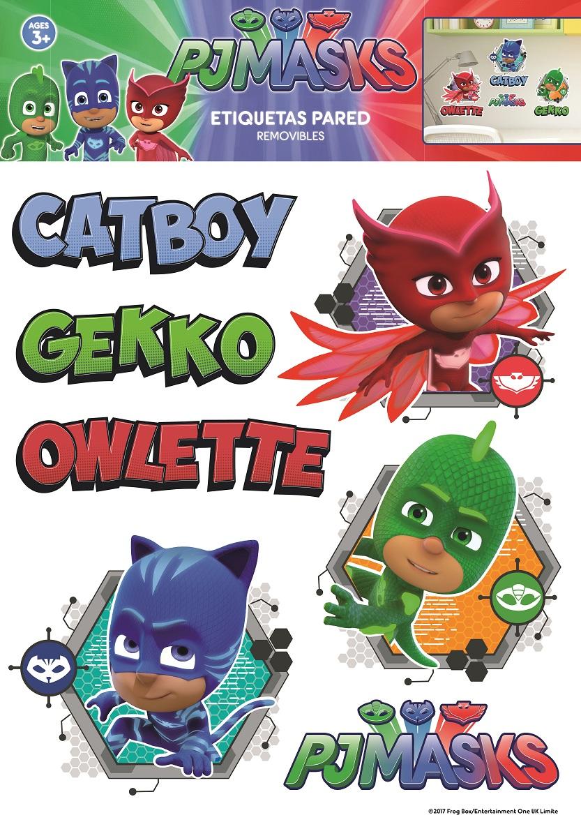 Pj Masks Catboy, Owlette And Gekko