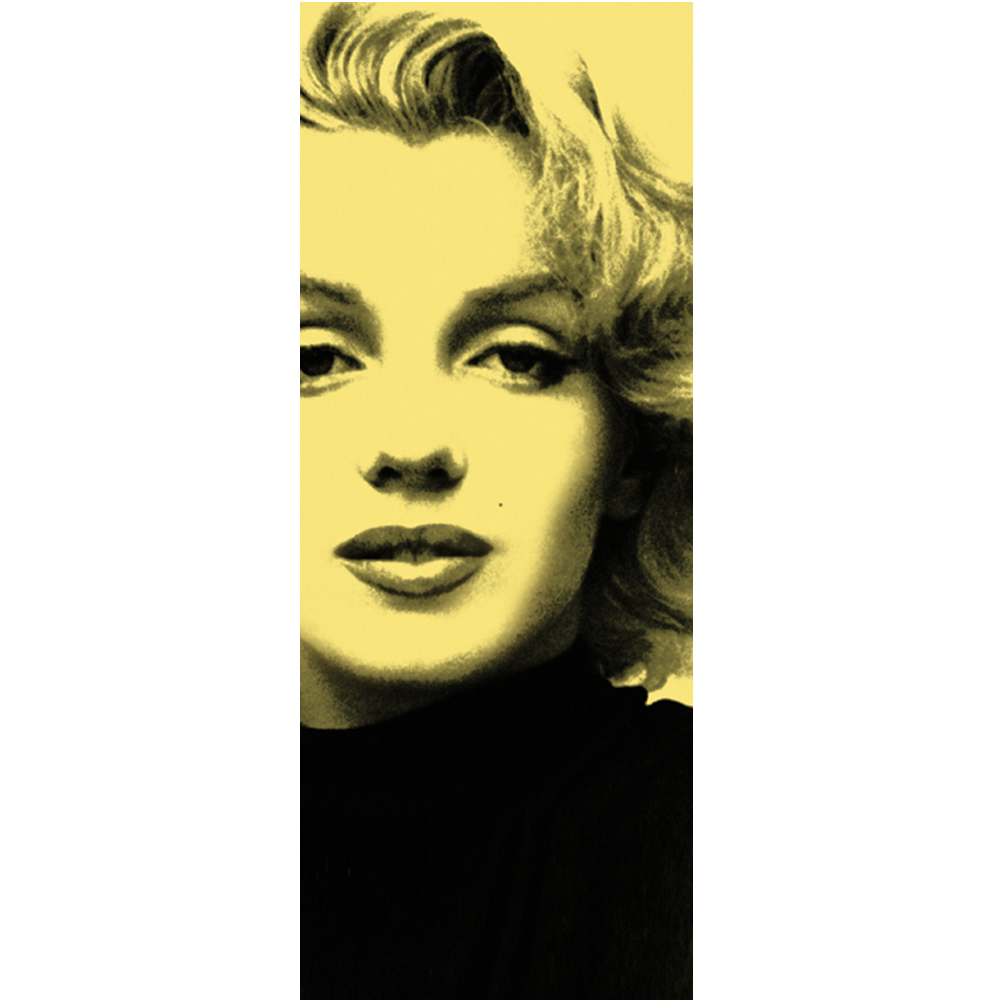 Marilyn in Yellow: wall stickers and decorations by Imagicom | Imagicom