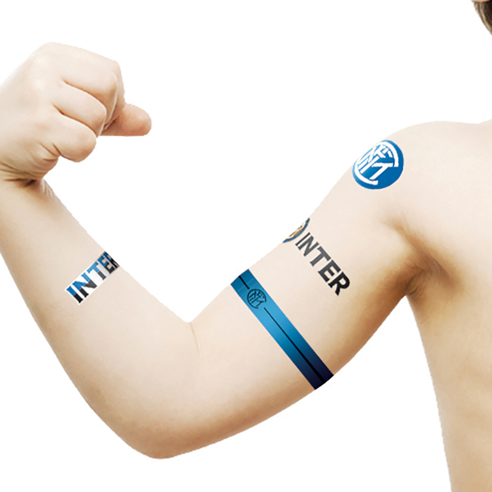 Inter Temporary Tattoos Mini Logos