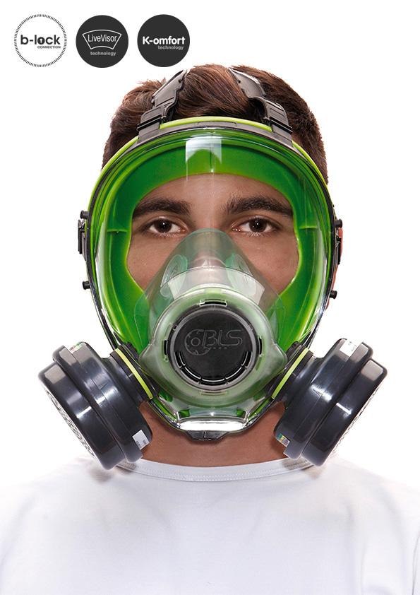 mascherine antipolvere bls