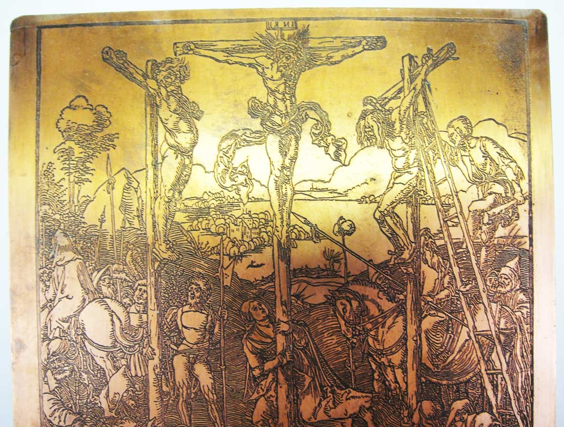 ALBRECHT DURER COPPER PRINTING PLATE ENGRAVING MATRIX REF NO 0170 ...