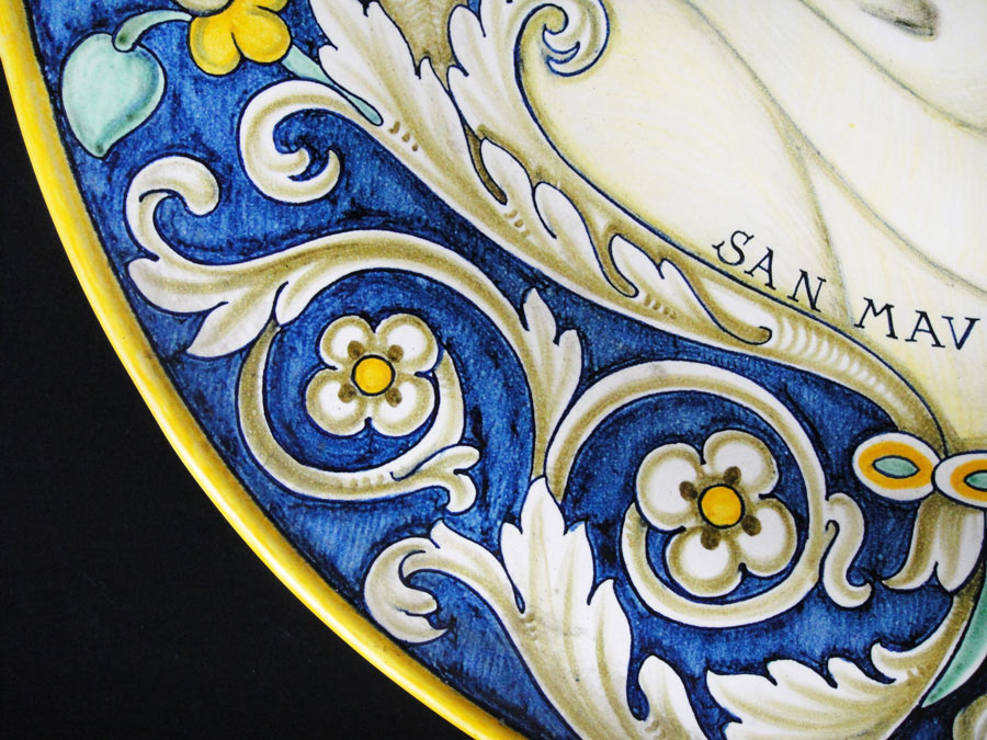 Ceramica volpi deruta anni picture of bobeche vintage store