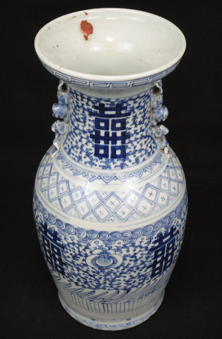 Antique blue and white celadon chinese vase 19th century ref no antique blue and white celadon chinese vase 19th century ref no 0132 reviewsmspy
