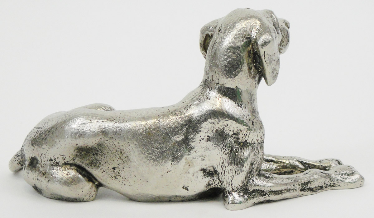 e530bbbdc6f72d A PAIR OF GUCCI SILVER PLATED METAL DOGS. € 1.450