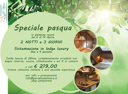 Special Easter in Glamping Resort