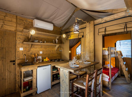 Glamping holiday - September