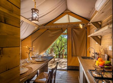 Vacanza relax in glamping